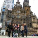 Ante a Catedral de Santiago de Compostela