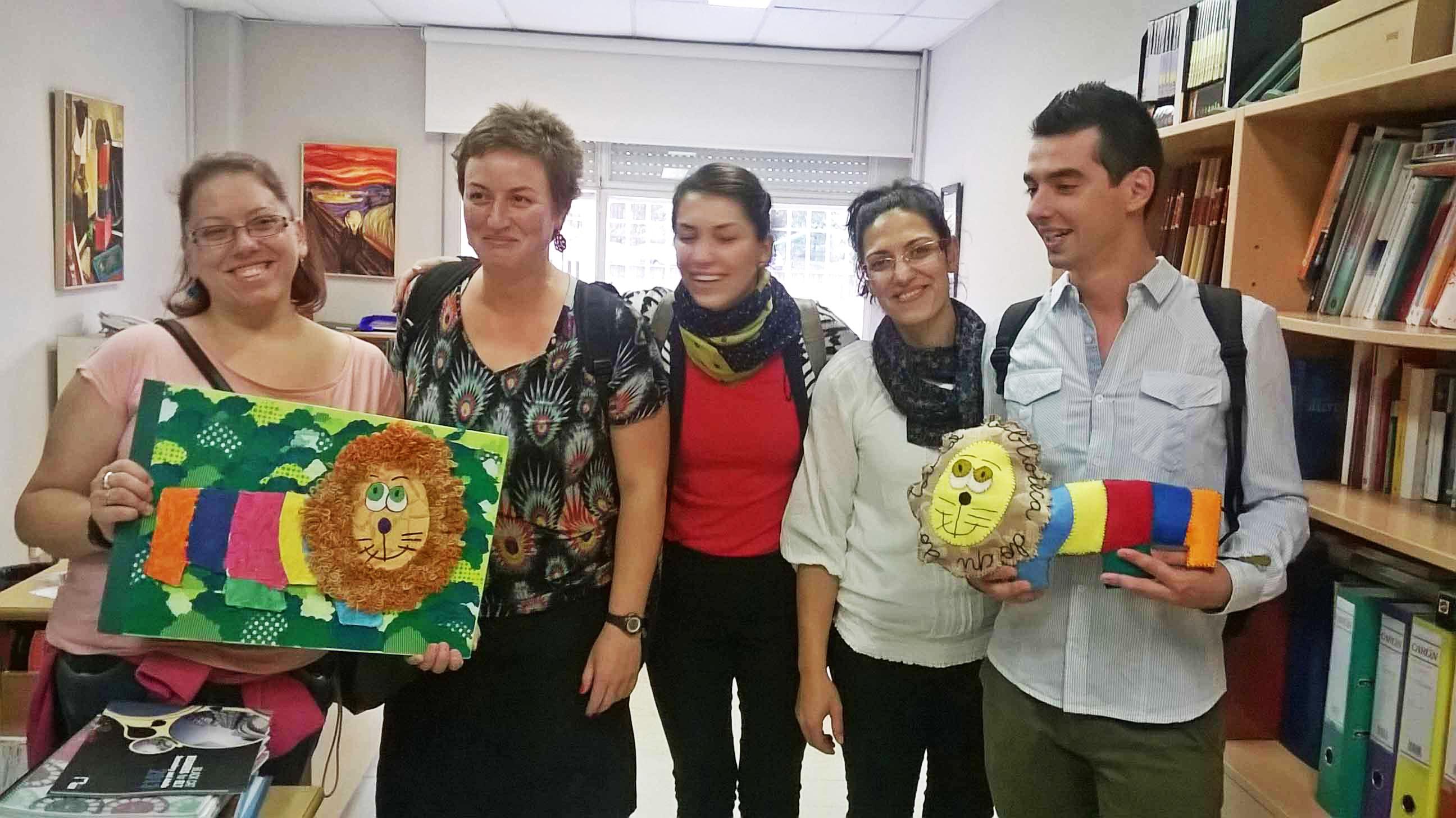 O grupo LdV Mobility Project no CPI O Toural de Vilaboa